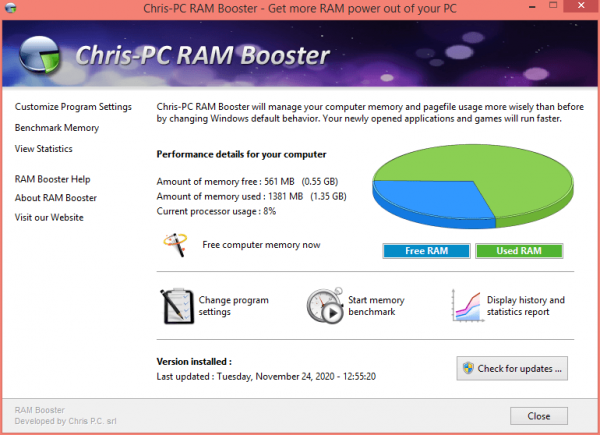Chris-PC Ram Booster Patch and Activator Full Free Download