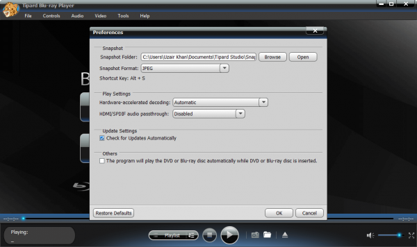 Tipard Blu-ray player Serial key & Patch Free Download