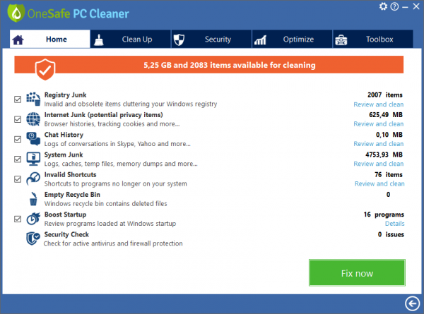 OneSafe PC Cleaner Pro Crack {2020} Full Free Download